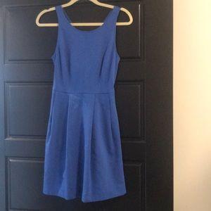 Jcrew royal blue skater dress